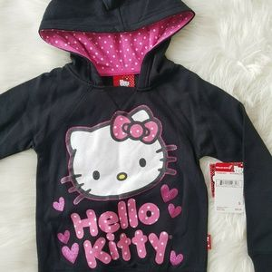 HELLO KITTY Girl's Pullover Hoodie